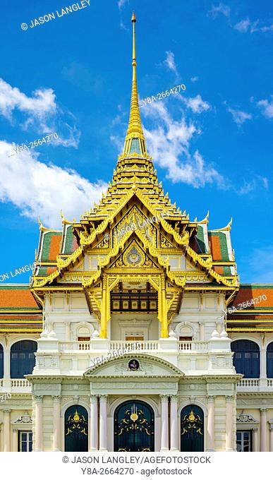 Phra Thinang Chakri Maha Prasat throne hall, Grand Palace complex, Bangkok, Thailand
