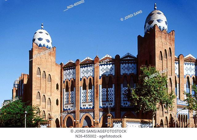 Monumental bullring, Art Nouveau (1914-16). Barcelona. Catalunya. Spain