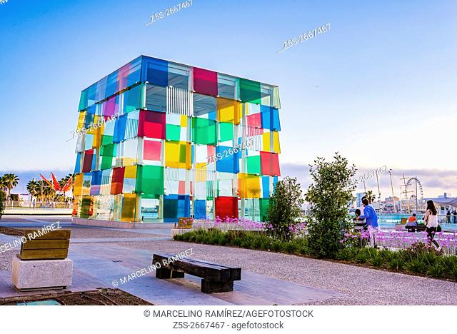 The Centre Pompidou Málaga is a branch of the National Center for Art and Culture Georges Pompidou of France located in the space called the Cube in the Spanish...