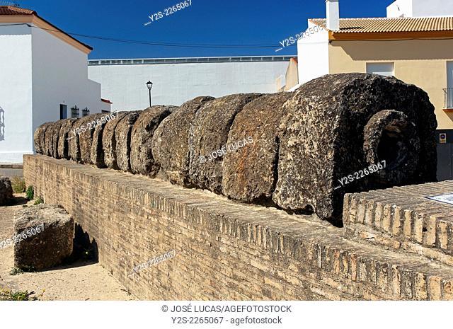 Roman aqueduct - 1st century BC, Paterna del Campo, Huelva province, Region of Andalusia, Spain, Europe