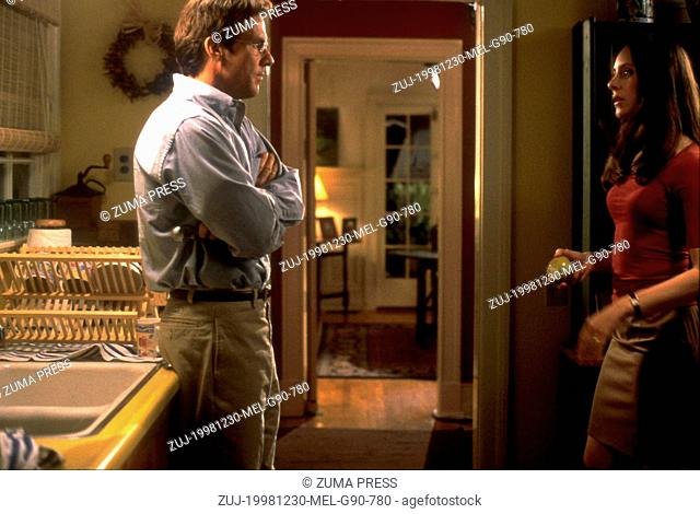 Dec 30, 1998; Los Angeles, CA, USA; DENNIS QUAID and MADELEINE STOWE star as Hugh and Gracie in the romantic drama 'Playing By Heart' directed by Willard...