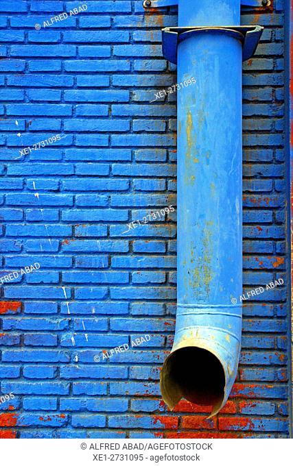 Blue drainage