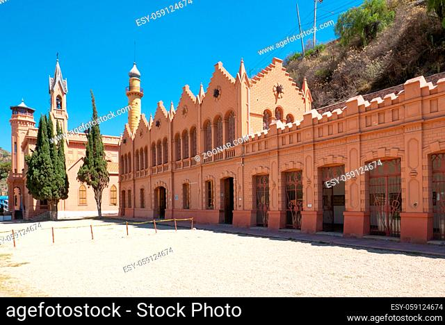 Sucre Bolivia October 11 Panoramic view of Glorieta Castle. This building located in Northern Sucre attracts many visitors for its interesting history