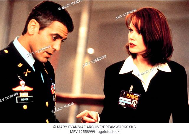 George Clooney & Nicole Kidman Characters: Lt. Col. Thomas Devoe & Dr. Julia Kelly Film: The Peacemaker (USA 1997) Director: Mimi Leder 23 September 1997