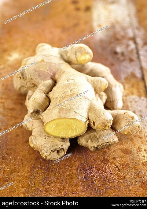 raiz de jengibre / ginger root