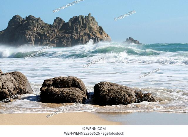 Cornwall is currently enjoying an Indian Summer Featuring: Porthcurno Where: Cornwall, United Kingdom When: 29 Sep 2015 Credit: WENN.com