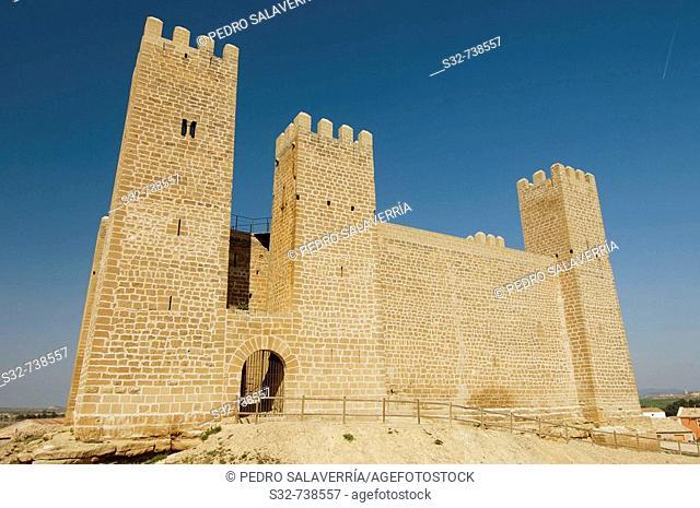 Castillo (siglo XIII); Sádaba; Comarca de Las Cinco Villas; Zaragoza; Aragón; España
