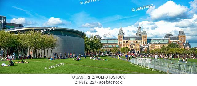 Van Gogh Museum and Rijksmuseum, Amsterdam, Netherlands