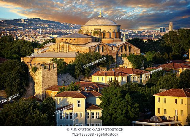 Hagia Irene or Hagia Eirene           , 'Holy Peace', Aya rini, the first Christian Roman Basilica built in Constantinople by Emperor Constantine  Rebuilt by...