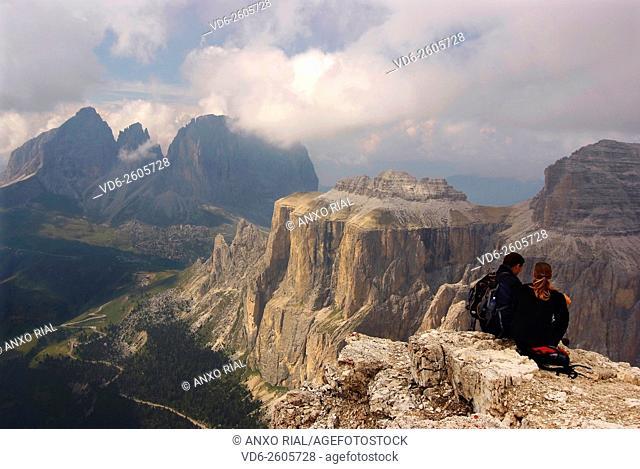 Italy. Trentino-Alto Adige. Italian Tyrol. Dolomites