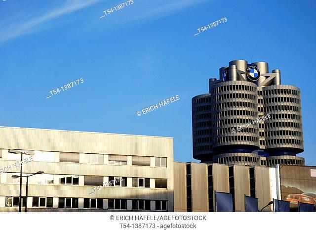 BMW car factory in Munich