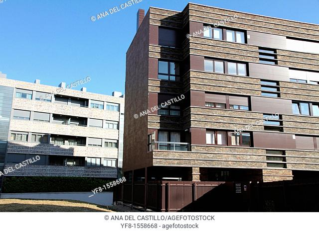 Modern buildings,Vitoria, Alava, Spain