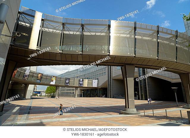 European Parliament Building,Brussels,Europe