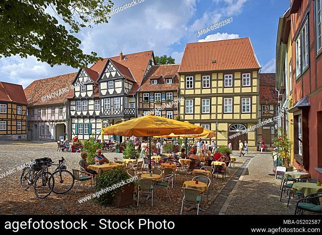 Klopstockmuseum am Schlossberg, Quedlinburg, Saxony-Anhalt, Germany