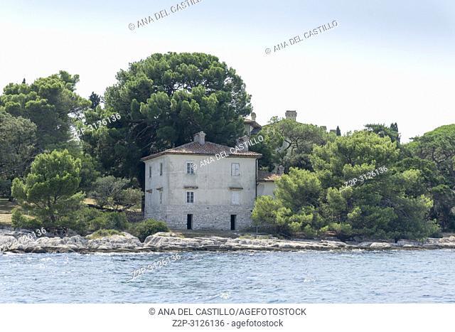 Brijuni national park in Adriatic sea Pula Istria Croatia