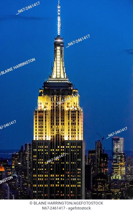 Empire State Building, New York, New York USA
