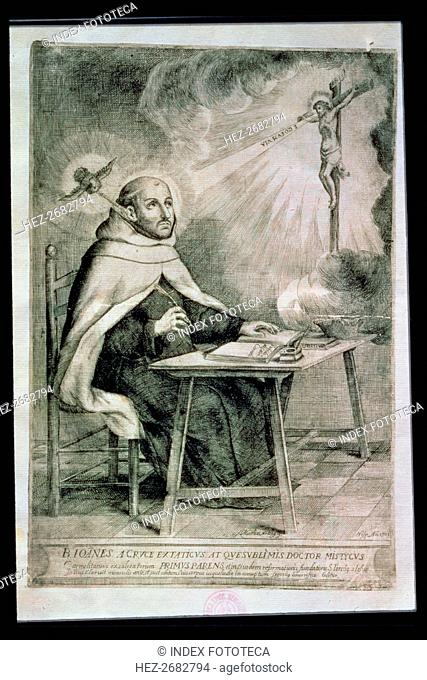 Juan de Yepes Alvarez, called San Juan de la Cruz (1542-1591), Carmelite religious and Sapanish w?