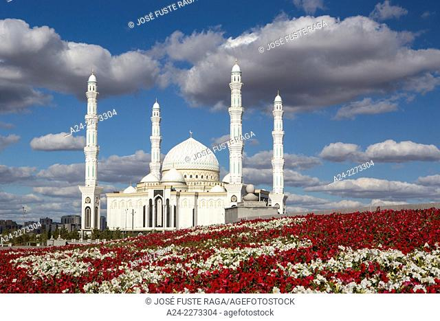 Kazakhstan, Astana City, New Administrative City, Hazret Sultan Mosque