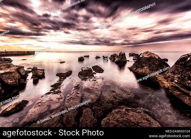 Croatia, Istria, coast at Umag
