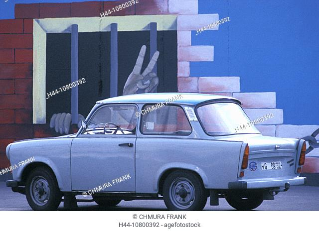 Berlin, Berlin wall, freedom, Germany, Europe, graffiti, jail, liberty, prison, symbol, Trabant, Trabi, Eastern Germ