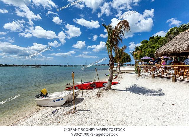 Beach Cafe, Sarasota, Florida, USA