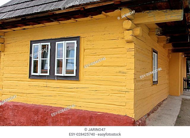 Vlkolinec - picturesque historical village in Slovakia