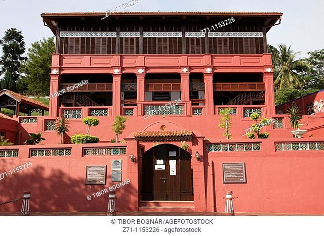 Malaysia, Melaka, Malacca, Islamic Museum, traditional architecture