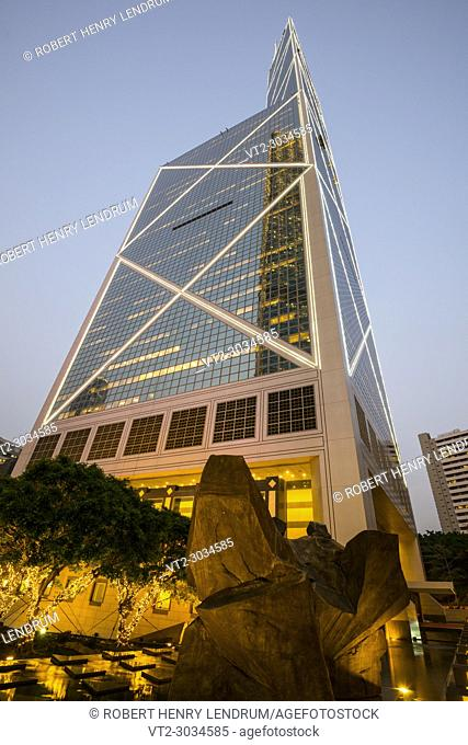 Central Financial District, Hong Kong, China