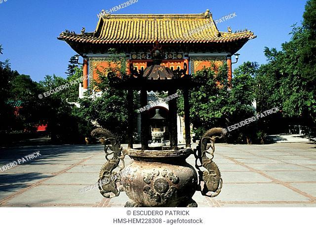 China, Hong Kong, Lantau Island, Po Lin Monastery