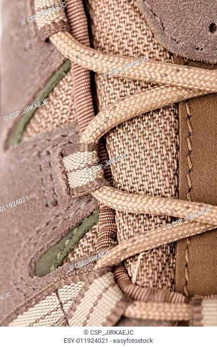 detail of hifing shoe