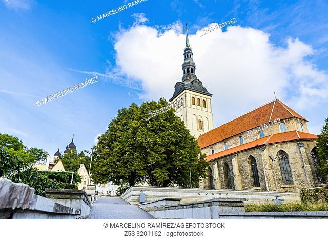 Niguliste Museum, St. Nicholas Church. Tallinn, Harju County, Estonia, Baltic states, Europe