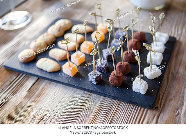 Sweet candies gelée