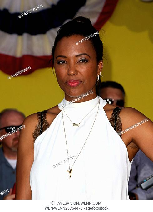 Premiere of Sony's 'Sausage Party' at Regency Village Theatre - Arrivals Featuring: Aisha Tyler Where: Westwood, California