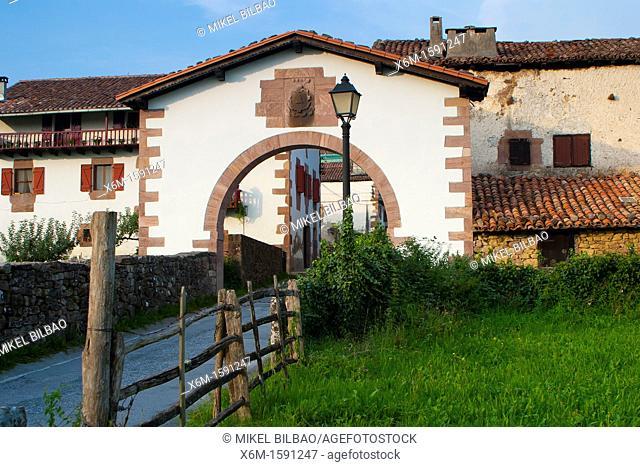 Amaiur village  Baztan valley  Navarre, Spain