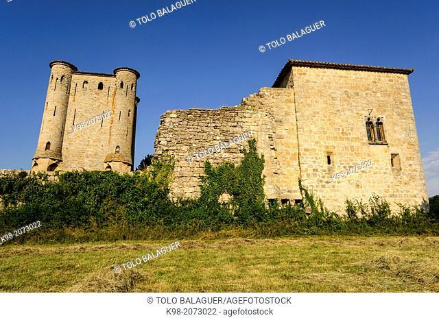 Arques Castle (13th Century), Aude Department, Languedoc-Roussillon, France
