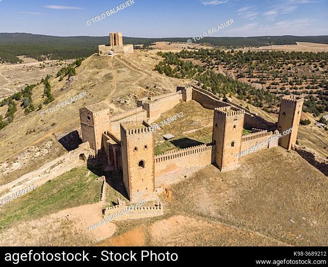 fortress of Molina de los Caballeros, Molina de Aragón, province of Guadalajara, Spain,