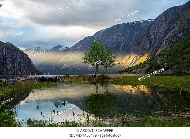 Sunbeam, Eidfjord, Hordaland, Norway