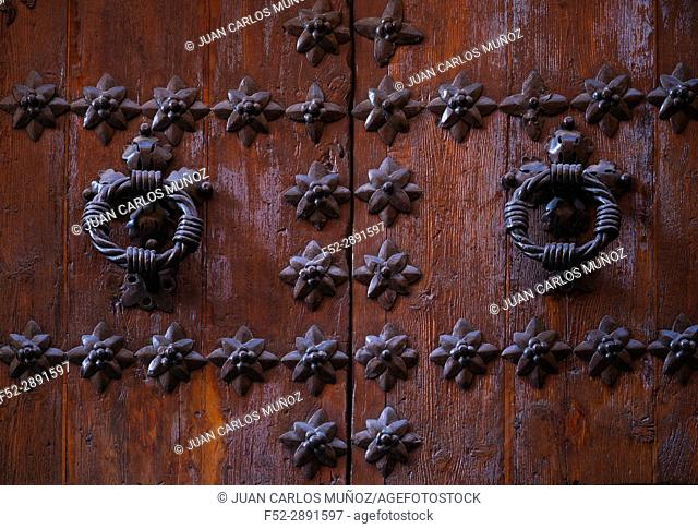 Details, Doors in Toledo city, Toledo, Castilla-La Mancha, Spain