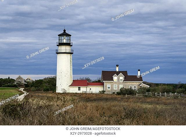 Highland lighthouse, Truro Cape Cod, Massachusetts, USA