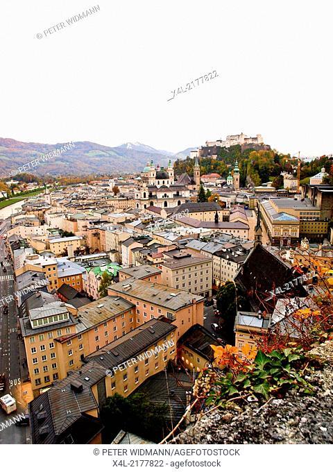 Salzburg, city view, Austria, Salzburg city