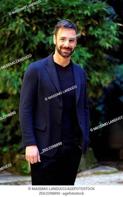 Raoul Bova; Bova; actor ; celebrities; 2015;rome; italy;event; photocall; la scelta