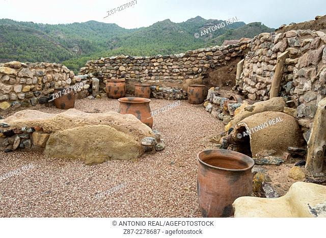 Argarian settlement of La Bastida, archaeological site, Totana, Murcia, Spain