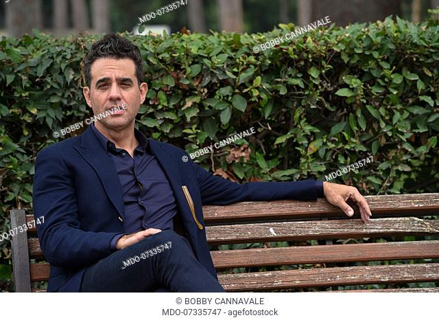 American actor Bobby Cannavale during the photocall for the presentation of the movie The Jesus Rolls. Rome (Italy), October 15th, 2019