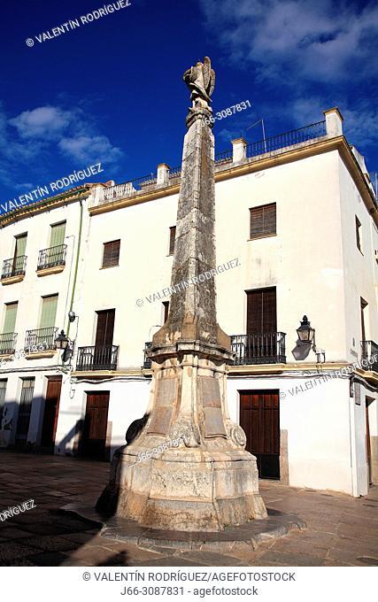 Triumph of San Rafael in the Plaza del Potro. Córdoba
