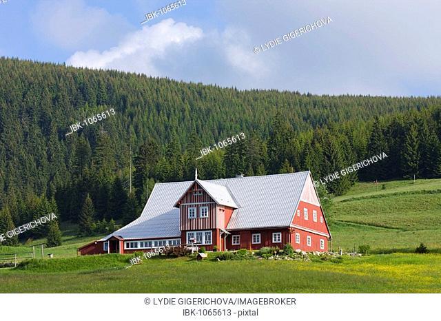 Mala Upa, Krkonose National Park, Giant Mountains National Park, East Bohemia, Czech Republic, Europe