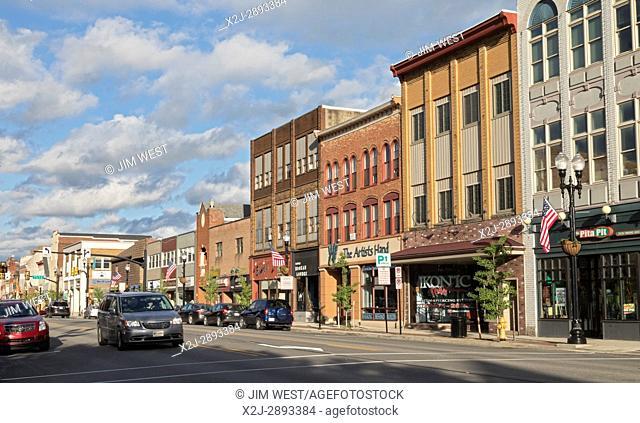 Indiana, Pennsylvania - Philadelphia Street, the main street in downtown Indiana