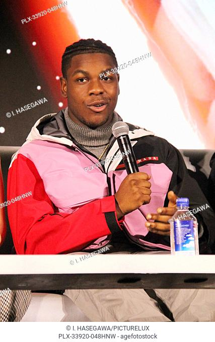 """John Boyega 12/04/2019 """"""""Star Wars: The Rise of the Skywalker"""""""" Press Conference held in Pasadena, CA. Photo by I. Hasegawa / HNW / PictureLux"""