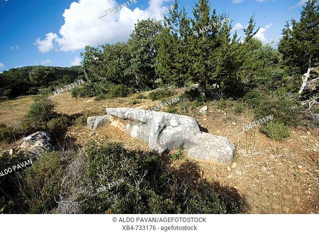 Mysterious statues near Yenierenköy, Karpass Peninsula, Cyprus