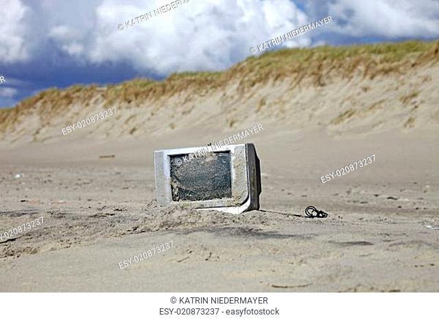 Umweltverschmutzung an der Nordseeküste