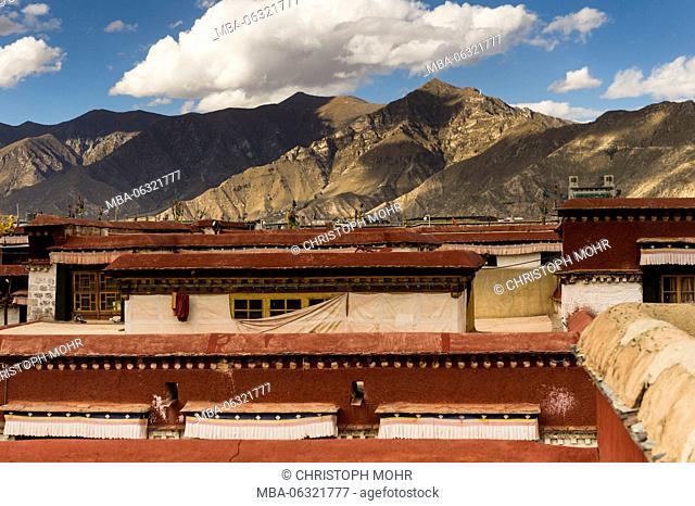 Lhasa, old town